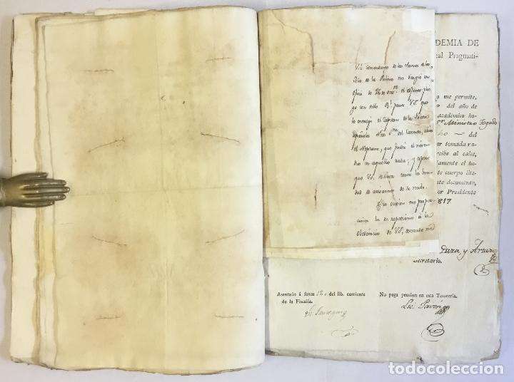 Manuscritos antiguos: [MISCELÁNEA DOCUMENTAL SOBRE LA CARRERA DE UN FISCAL DE LA AUDIENCIA ESPAÑOLA EN CANARIAS Y MÉXICO]. - Foto 10 - 146394866