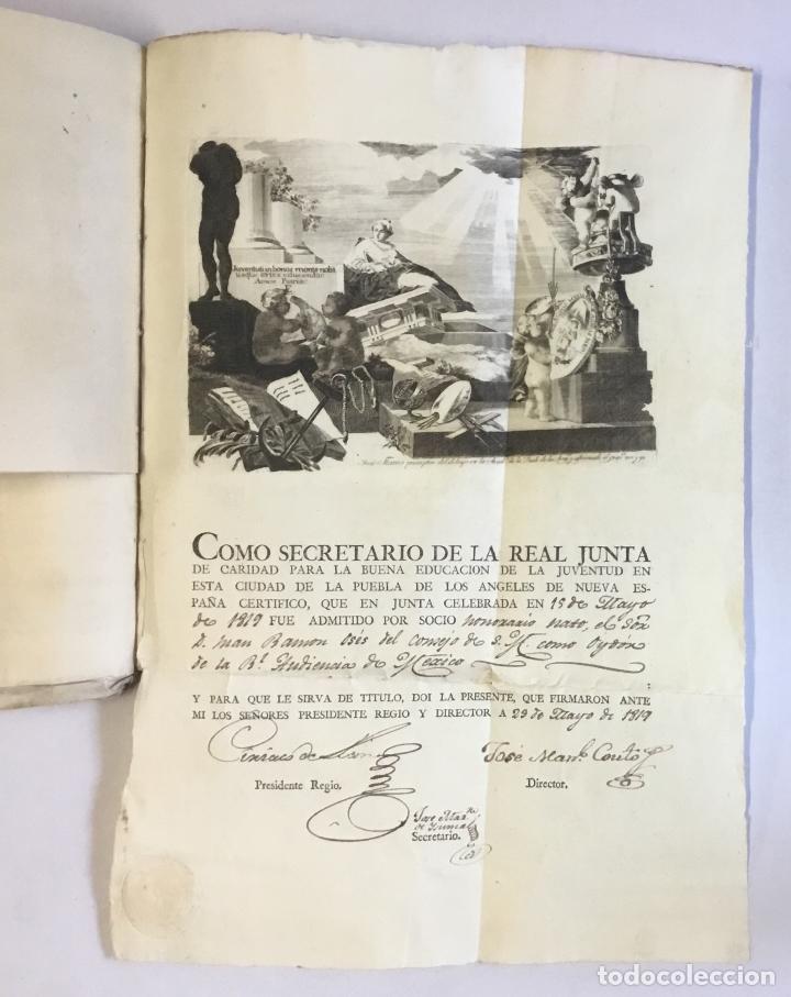 Manuscritos antiguos: [MISCELÁNEA DOCUMENTAL SOBRE LA CARRERA DE UN FISCAL DE LA AUDIENCIA ESPAÑOLA EN CANARIAS Y MÉXICO]. - Foto 14 - 146394866