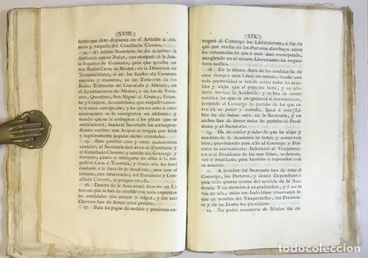 Manuscritos antiguos: [MISCELÁNEA DOCUMENTAL SOBRE LA CARRERA DE UN FISCAL DE LA AUDIENCIA ESPAÑOLA EN CANARIAS Y MÉXICO]. - Foto 19 - 146394866