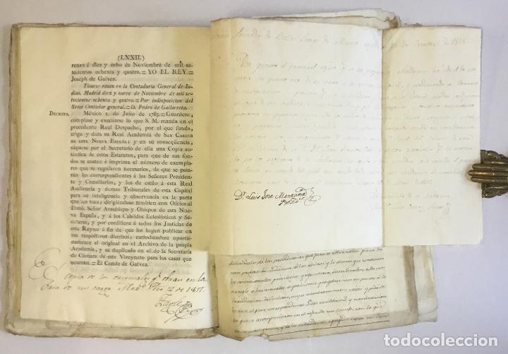 Manuscritos antiguos: [MISCELÁNEA DOCUMENTAL SOBRE LA CARRERA DE UN FISCAL DE LA AUDIENCIA ESPAÑOLA EN CANARIAS Y MÉXICO]. - Foto 20 - 146394866