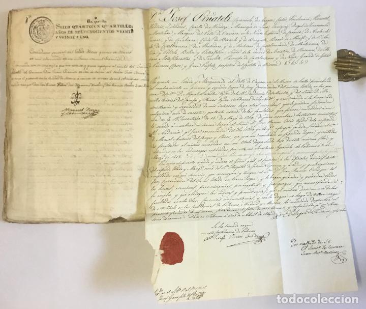Manuscritos antiguos: [MISCELÁNEA DOCUMENTAL SOBRE LA CARRERA DE UN FISCAL DE LA AUDIENCIA ESPAÑOLA EN CANARIAS Y MÉXICO]. - Foto 21 - 146394866