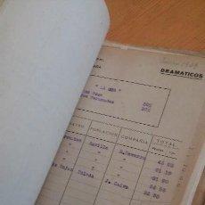 Manuscritos antiguos: TEATRO, COMPAÑÍAS, GUERRA CIVIL. ARCHIVO TEATRAL. SGAE MUÑOZ SECA. MANUSCRITO MECANOESCRITO HISTORIA. Lote 146493950