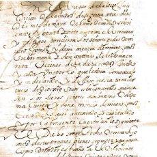 Manuscritos antiguos: MANUSCRITO DE 1627 MATRIMONIALES EN SEGOVIA DE ANTONIO LEDESMA ZURITA CON. Lote 146628518