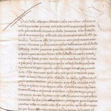 Manuscritos antiguos: MANUSCRITO DE 1566 SOLAR IÑURRIGARRO-NARBAYZA BIENES DE PEDRO DE NARBAYZA. Lote 146630826