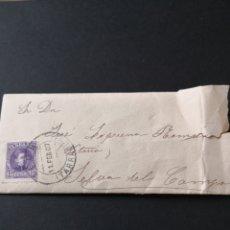 Manuscritos antiguos: ANTIGUA CARTA DE 1907. CON SU SOBRE ORIGINAL CON FRANQUEADA DE TARRAGONA.. Lote 146746682