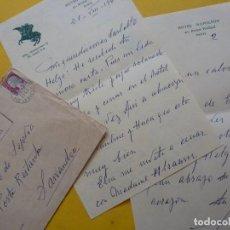 Manuscritos antiguos: CARTA MANUSCRITA Y FIRMADA POR EL PRINCIPE JAIME DE BORBÓN EN 1962. HIJO DE ALFONSO XIII. Lote 146797014