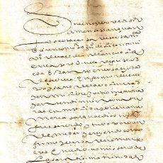 Manuscritos antiguos: MANUSCRITO DE 1631 LINAJE LIZARRITURRI, TESTAMENTO EN SEVILLA JUAN DE LIZARRITURRI . Lote 146856038