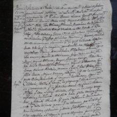 Manuscritos antiguos - PETICIÓN REAL PERALTA NAVARRA IMPORTANTE MANUSCRITO AÑO 1790 FIESTAS DE SAN BLAS - 146866162