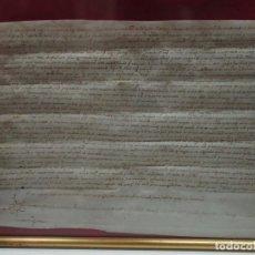 Manuscritos antiguos: [MANUSCRIT.] [INCA. VENDA DE CENSAL.] INCA (MALLORCA), 12 D'AGOST DE 1575.. Lote 123267030