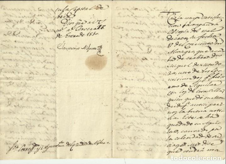 LA RIOJA, ALFARO: GUERRA DE LA INDEPENDENCIA 1809 CARTAS DEL GENERAL LOISON Y JOSE BONAPARTE I (Coleccionismo - Documentos - Manuscritos)