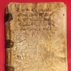 Manuscritos antigos: LIBRO DE CUENTAS DE ROQUE SAENZ DE VELASCO DE LA FABRICA DE SAN NICOLAS VALLADOLID 1770. Lote 147977714