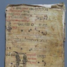 Manuscritos antiguos: COPIA DE HIDALGUIA FAMILIA SALVADORES Y GENEALOGIA POR D. RAMON ZAZO Y ORTEGA. URDUES DE LERDA. 1773. Lote 150266178