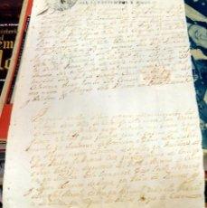 Manuscritos antiguos: 1710, NOMBRAMIENTO DE JUSTICIA POR EL CONDE DUQUE DE OLIVARES, FIRMA Y SELLO DE PLACA,. Lote 150529470