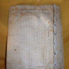 Manuscritos antiguos: CERTIFICADO DE LIMPIEZA DE SANGRE Y LIBERTAD - SEGOVIA AÑO 1816 - CHRISTIANOS VIEJOS·MUY RARO.. Lote 151482054