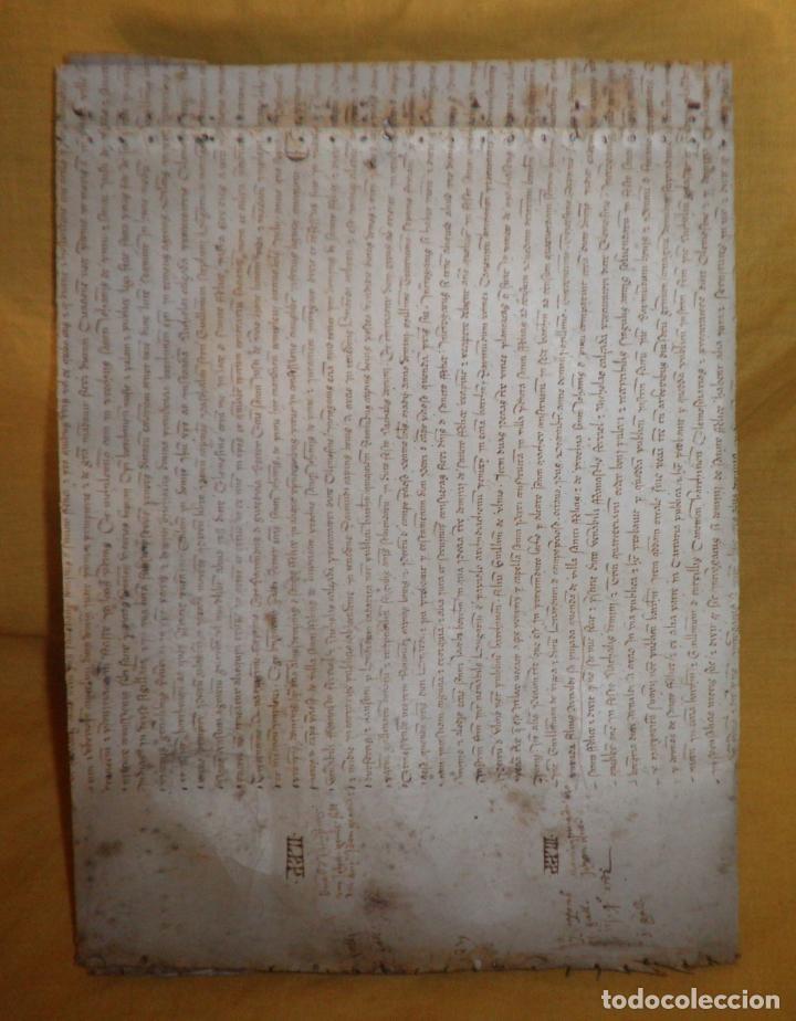 Manuscritos antiguos: CERTIFICADO DE LIMPIEZA DE SANGRE Y LIBERTAD - SEGOVIA AÑO 1816 - CHRISTIANOS VIEJOS·MUY RARO. - Foto 2 - 151482054