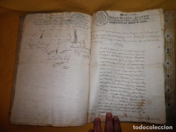 Manuscritos antiguos: CERTIFICADO DE LIMPIEZA DE SANGRE Y LIBERTAD - SEGOVIA AÑO 1816 - CHRISTIANOS VIEJOS·MUY RARO. - Foto 11 - 151482054