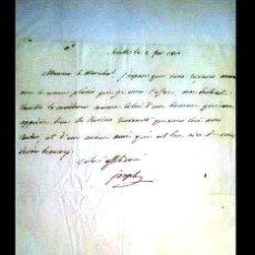 Manuscritos antiguos: GUERRA DE LA INDEPENDENCIA CARTA MANUSCRITA DE JOSÉ BONAPARTE AL MARISCAL JOURDAN, SEVILLA 1810. Lote 152490141