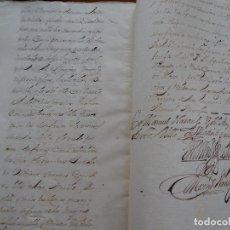 Manuscritos antiguos: MADRID, C/ ARENAL, 1731, CENSO MAYORAZGO FRANCISCO SOTO Y GUZMÁN, COLEGIAL DE BRIVIESCA, 124 PAG. Lote 152548006