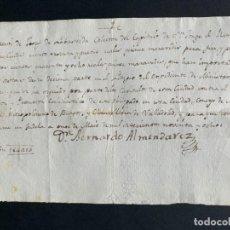 Manuscritos antiguos: 1798 - EXPEDIENTE DE MINISTROS CANTORES - TUDELA - CORO - NAVARRA - MANUSCRITO. Lote 153640182