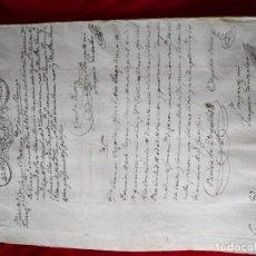 Manuscritos antiguos: MANUSCRITO DE 1828. Lote 154113698