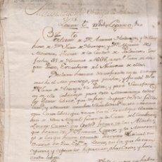 Manuscritos antiguos: MAYORAZGO DE LOS ORTEGAS DE PALENCIA. ANTONIO ORTEGA. MARÍA DE MENDOZA. 1668. Lote 154204230