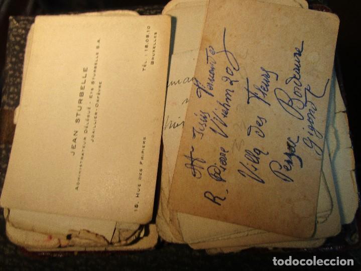 Manuscritos antiguos: AGENDA TARJETAS MANUSCRITAS JOYERIA FABRICA PLATERIA HIJOS HERNANDEZ ATOCHA 109 MADRID - Foto 10 - 154219038
