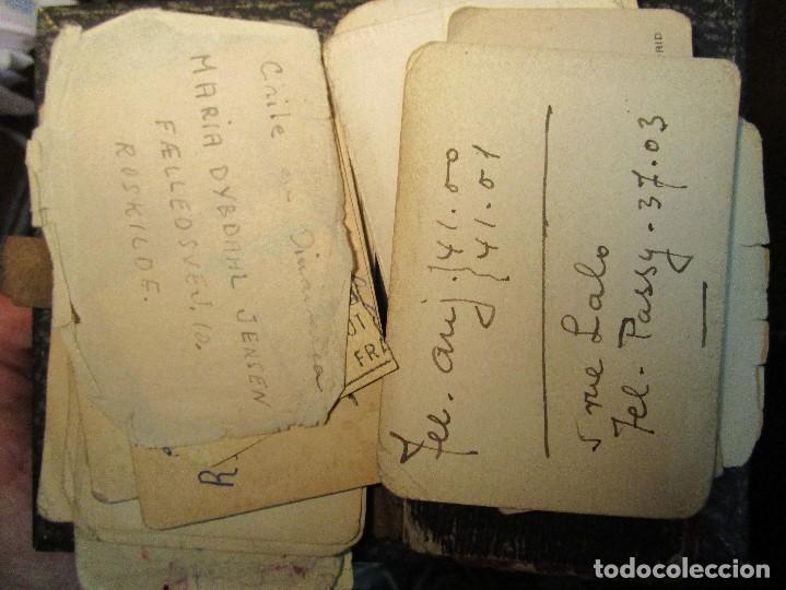 Manuscritos antiguos: AGENDA TARJETAS MANUSCRITAS JOYERIA FABRICA PLATERIA HIJOS HERNANDEZ ATOCHA 109 MADRID - Foto 11 - 154219038
