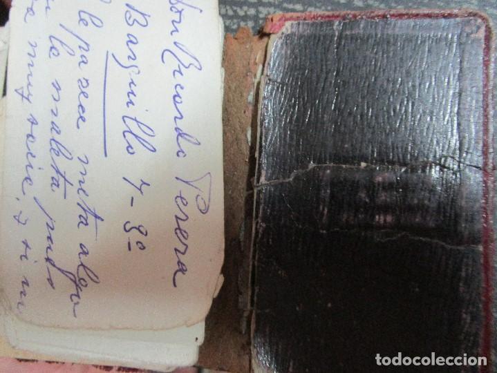 Manuscritos antiguos: AGENDA TARJETAS MANUSCRITAS JOYERIA FABRICA PLATERIA HIJOS HERNANDEZ ATOCHA 109 MADRID - Foto 15 - 154219038