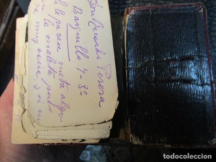 Manuscritos antiguos: AGENDA TARJETAS MANUSCRITAS JOYERIA FABRICA PLATERIA HIJOS HERNANDEZ ATOCHA 109 MADRID - Foto 16 - 154219038