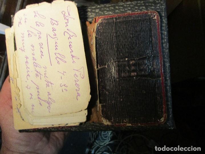 Manuscritos antiguos: AGENDA TARJETAS MANUSCRITAS JOYERIA FABRICA PLATERIA HIJOS HERNANDEZ ATOCHA 109 MADRID - Foto 17 - 154219038