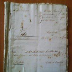 Manuscritos antiguos: 1847 PLEITO MANUSCRITO BARCELONA - CONJUNTO MANUSCRITOS 100 PÁGINAS. Lote 154351754