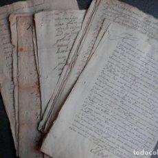 Manuscritos antiguos: LOTE 13 MANUSCRITOS SIGLOS XVI-XVII VILASANTAR A CORUÑA FISCALES Y TEMAS VARIOS VER TODOS FICHA VENT. Lote 154364134