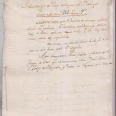 Manuscritos antiguos: SERVICIOS DE D. MELCHOR DE BRIZUELA, REGIDOR PERPETUO DE LA CIUDAD DE BURGOS. Y DE OTROS. Lote 154865746
