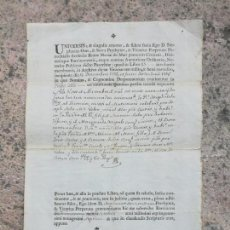 Manuscritos antiguos: ACTA MATRIMONIAL BARCELONA IGLESIA MARIA DEL MAR 1792-1797. Lote 155015346