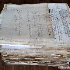 Manuscritos antiguos: VILLAVERDE DE ARCAYOS (LEÓN) CONJUNTO DOCUMENTAL DE 1607 A 1902 – 681 SELLOS FISCALES (VER RELACIÓN). Lote 155162286