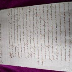 Manuscritos antiguos: MANUSCRITO DE 1848. Lote 155593518