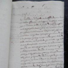 Manuscritos antiguos: MANUSCRITO AÑO 1818 REALIZACIÓN CATASTRO REINO DE NAVARRA: ABAD DE MARCILLA Y FCO MARICHALAR. Lote 155708070