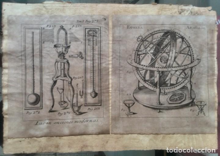 Manuscritos antiguos: Cartera de piel con documentos y grabados siglo 19 - Foto 8 - 155790698