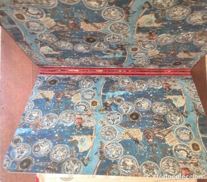 Manuscritos antiguos: Cartera de piel con documentos y grabados siglo 19 - Foto 12 - 155790698