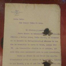 Manuscritos antiguos: DOCUMENTO CON FIRMA DEL CRÍTICO, POETA E HISTORIADOR DE MEXICO FRANCISCO ASIS DE ICAZA. Lote 155817978
