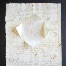 Manuscritos antiguos: AÑO 1734. REAL PROVISIÓN FELIPE V. SELLO SECO Y FIRMA CANCILLER. VALLADOLID. VILLANUEVA SAN MANCIO. Lote 157206022