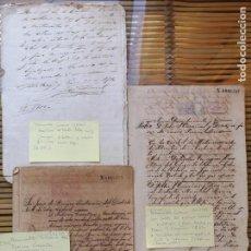 Manuscritos antiguos: LOTE 1 ,VENTAS DE INGENIOS EN CUBA ,DOCUMENTACIÓN DE VENTAS AÑOS 1880. Lote 157916858