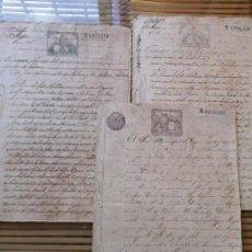 Manuscritos antiguos: 4ºLOTE DE DOCUMENTOS CUBANOS ,DE VENTAS DE INGENIOS SIGLO XIX. Lote 157921958
