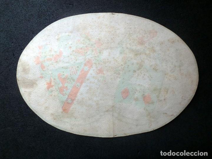 Manuscritos antiguos: (JX-190415)Escudos Heráldicos pintados de las Familias Gargallo y Viala,Nobleza Catalan,Siglo XIX. - Foto 8 - 158492082