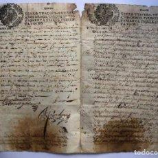 Manuscritos antiguos: PEDRO ANTONIO FERNÁNDEZ DE CASTRO ANDRADE (1632 - 1672) MANUSCRITO 1670. Lote 158748862