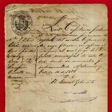 Manuscritos antiguos: DOCUMENTO MILITAR EN MATANZAS , CUBA 1876 , ORIGINAL , B10 -9. Lote 159520970
