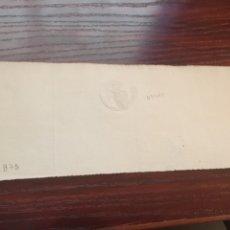 Manuscritos antiguos: AMADEO I 1872. CABECERA PAPEL SELLADO O TIMBRADO, SELLO SECO DESPACHOS DE OFICIO. Lote 160185004