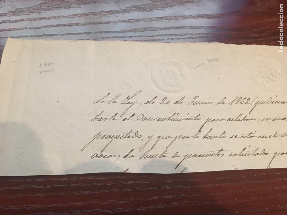 ALFONSO XIII 1889. CABECERA PAPEL SELLADO O TIMBRADO, SELLO SECO DESPACHOS DE OFICIO. (Coleccionismo - Documentos - Manuscritos)