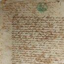 Manuscritos antiguos: CUBA ESCLAVITUD. VENTA DE UNA ESCLAVA AÑO 1866.. Lote 160338474