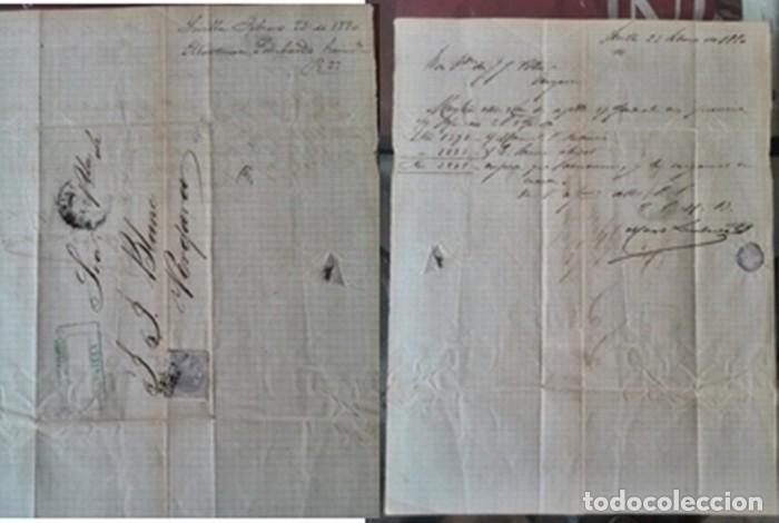 Manuscritos antiguos: Cartera de piel con documentos y grabados siglo 19 - Foto 2 - 155790698